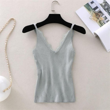 V-neck Vest Camisole Casual Tops
