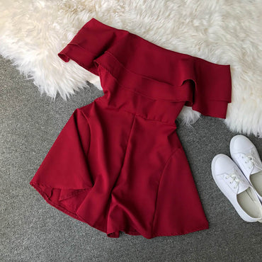 Candy Color Elegant Rompers