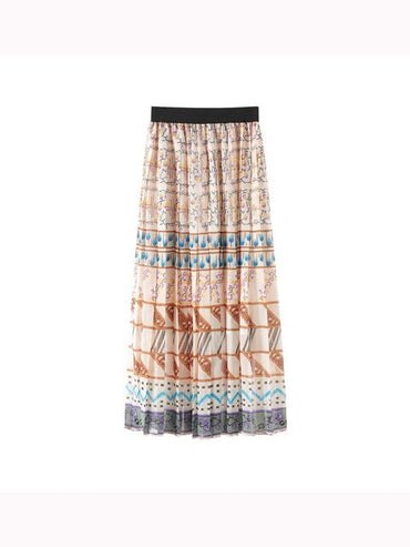 Runway Designer Pleated Skirt