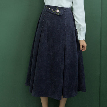 Japan Style Vintage Long Skirts