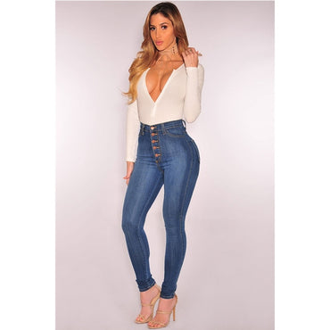High Waist Plus Size XL 4XL Jeans