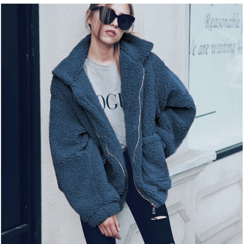 teddy fur  Jacket & Coat
