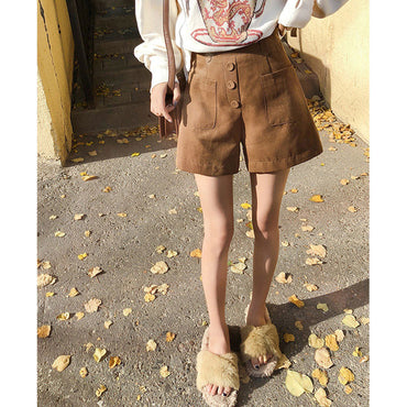 High Waist Casual Short