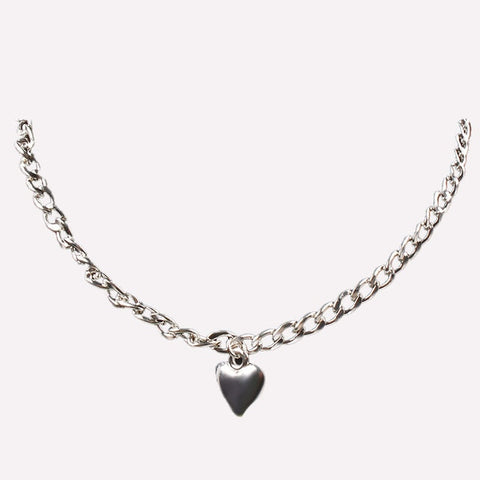 Jewelry Cute Heart Lock Necklace