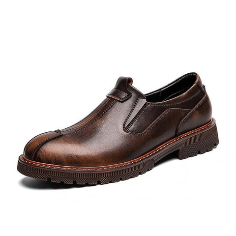 Genuine Leather  Oxfords Shoes