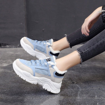Casual  Flats Platform Warm shoes & sneakers