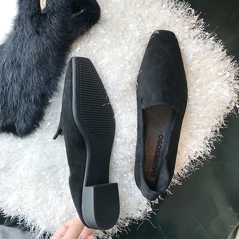 Retro Loafers Flat Shoes