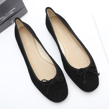 Platform dress Flat shoes