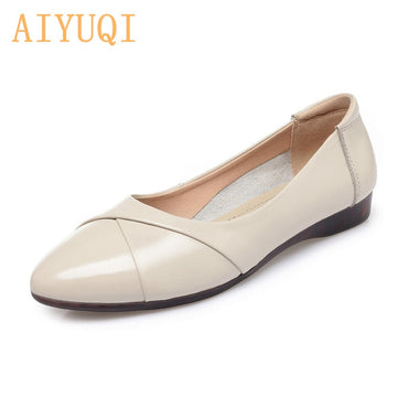 Genuine Leather Comfortable Flat shoes