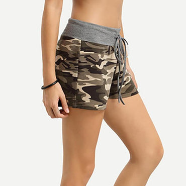 Casual Cotton Camouflage Shorts