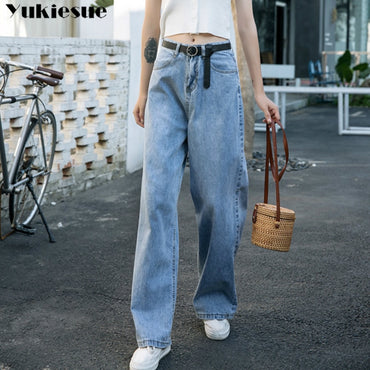 High Waist vintage Full Length Denim Jeans