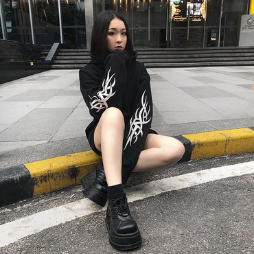 Streetwear Crop Hoodies