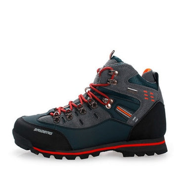 Waterproof Hiking Suede Breathable Trekking Sneakers Mountain Boots