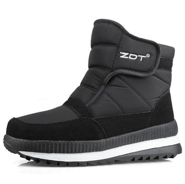 waterproof non-slip flat ankle winter boots