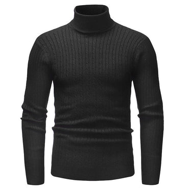 V Neck Solid Casual Black Warm Sweater