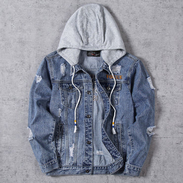 Casual Bomber  Vintage Jean Denim Jacket