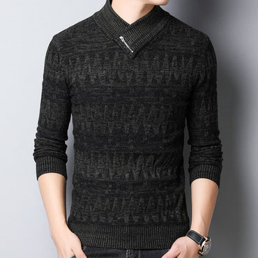 Zipper Warm Sweater
