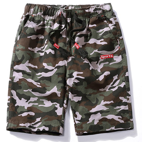 Cool Camouflage Cotton Casual Short