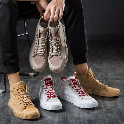 Canvas Shoes Lace Up  Flats Fashion Trainers Leisure Shoes & Sneakers