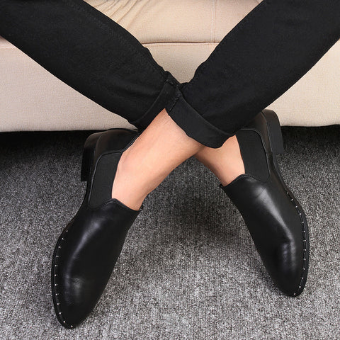 Classical Retro Flats Oxfords Business Dress Derby oxford shoes