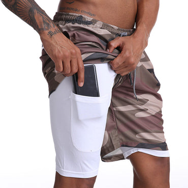 Running Shorts Hidden Pockets Outdoor Shorts