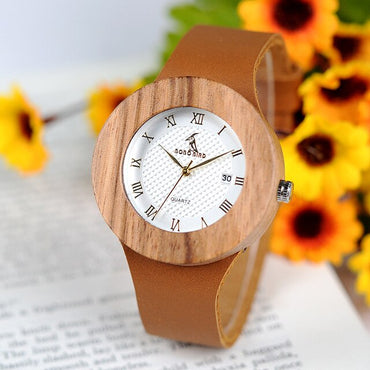 Wood Watch Casual Wristwatch