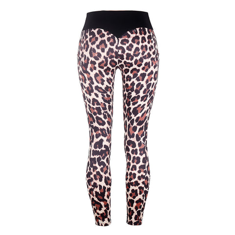 High Waist Chirstmas Workout Leggings