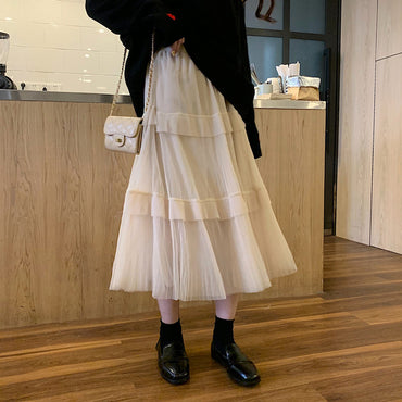 Korean High Waist Skirt