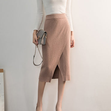 Elegant  Knitted Skirt