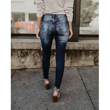 Cool Denim Vintage Skinny Push Up Jeans