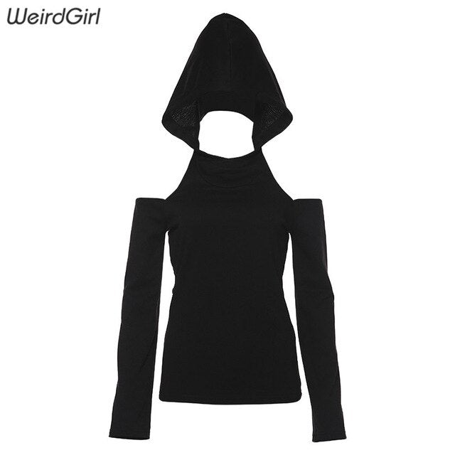Harajuku Solid Slim Hot Pullovers hoodies