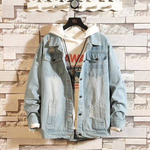 Retro Loose Denim Jacket