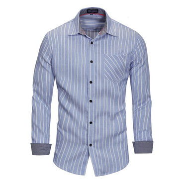 Pure Cotton Long Sleeve  Dress Shirt