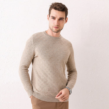 100% wool knitted sweater