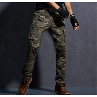 Camouflage Military Cotton Pants