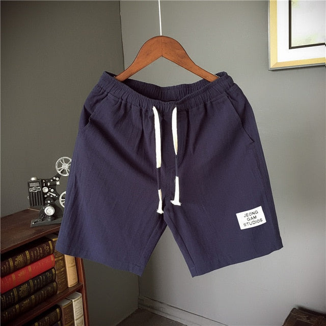 Letter Casual Shorts
