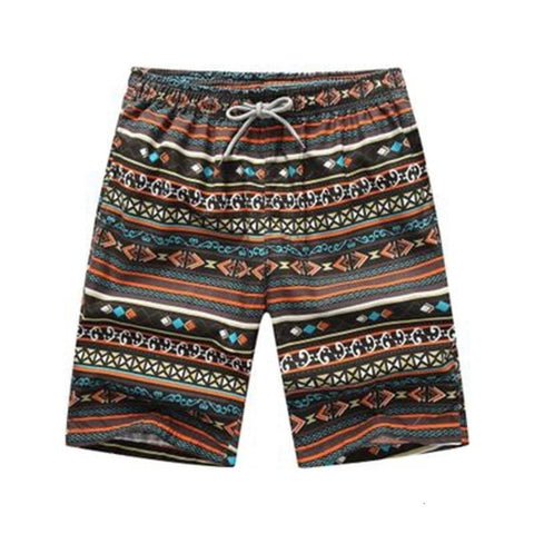 bohemian style casual shorts