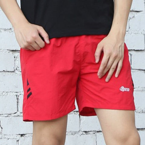 thin casual striped elastic breathable and quick-drying shorts