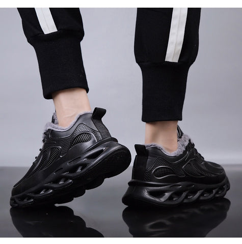 Casual  Black Walking Hombre Shoes & Sneakers