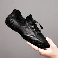 Genuine Leather  casual shoes outdoor Breathable Soft Driving Shoes & Sneakers
