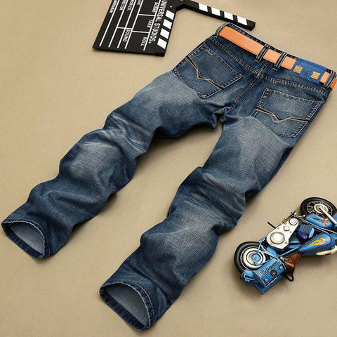Button Fly Pants Brand Designer Jeans