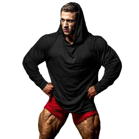 Casual Muscle Gym Hoodies