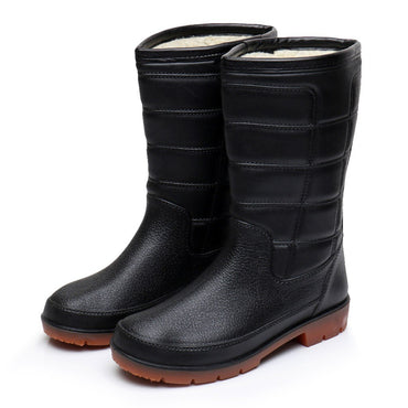 Waterproof Fashion Mid-calf Rain Boots