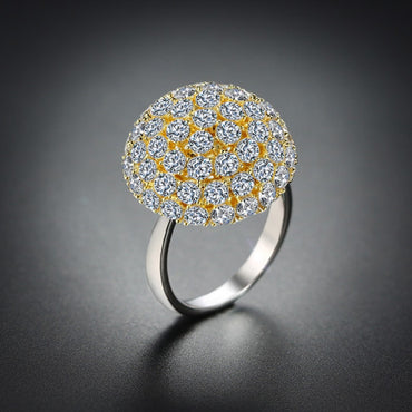 Stylish Rotatable Dandelion Design Ring