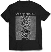 Joy Division Used On Unknown Pleasures T- Shirt