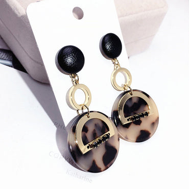 Jewelry Pearl Letter Brincos Boucles Bijoux Earrings