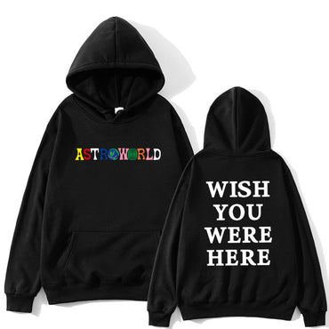 letter ASTROWORLD Hoodies