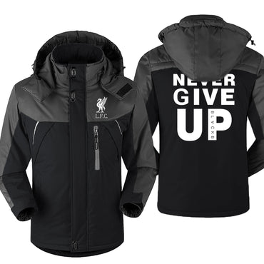 Never Give Up Liverpool  Windproof Jackets & Coats