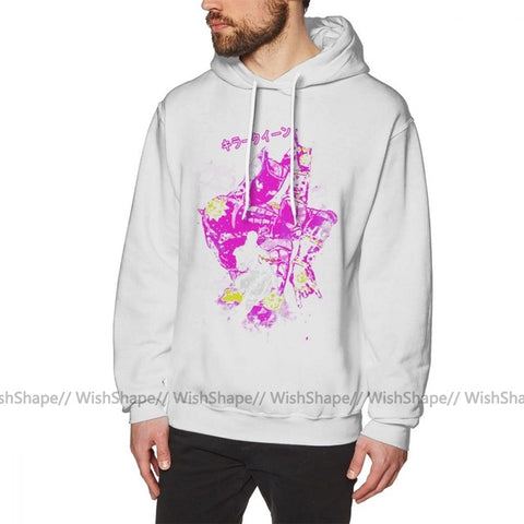 Cotton Loose Pullover Hoodie