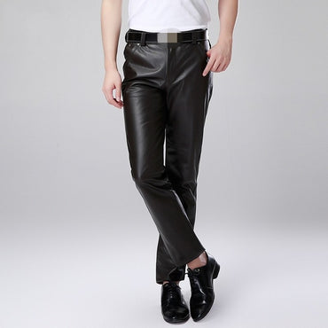 Cowskin Motorcycle Leather Pants